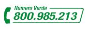 numero verde 800985213